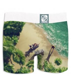 1d7b184338bfa2 Boxer Homme Freegun Beach Beige