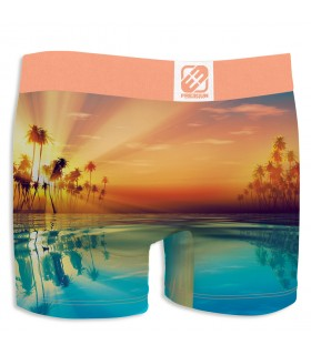 Boy's Sun Orange Boxer