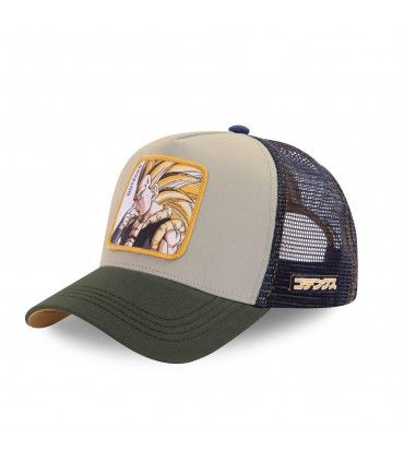 Casquette Caplabs Dragon Ball Goku Gris