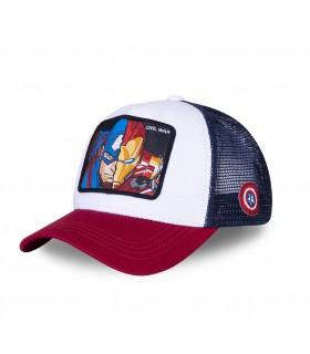 Casquette Capslab Marvel Civil War blanc et rouge