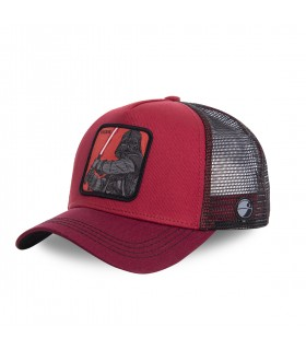 Casquette Capslab Star Wars Dark Vador rouge et noir