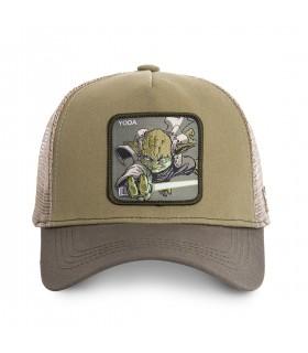Casquette Capslab tar Wars Yoda kaki