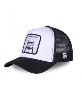 Casquette Capslab Stormtrooper Blanc et Noir