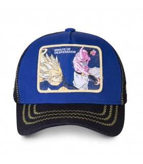 Casquette Capslab Dragon Ball Z Desperation bleu
