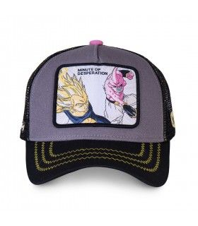 Casquette Capslab Dragon Ball Z Desperation gris