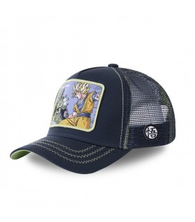 Casquette Capslab Dragon Ball Z Cell Games Bleu Marine