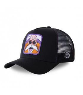 Men's Capslab Dragon Ball Z Black and Purple Cap
