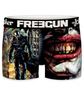 Boxer homme microfibre DC Comics Joker Noir