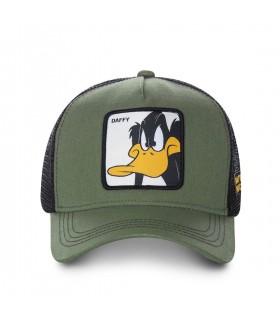 Casquette Capslab Looney Tunes Daffy Vert kaki