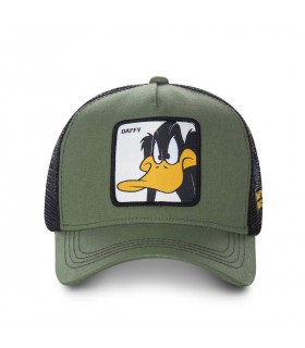 Casquette Capslab Looney Tunes Daffy Marron et Noir