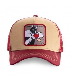 Casquette Capslab trucker Looney Tunes Gros Minet Noir