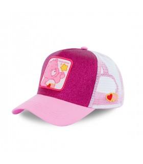 Men's Capslab Glittery Care Bears Toucherie Pink Cap