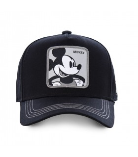 Men's Capslab Disney Mickey Black Cap