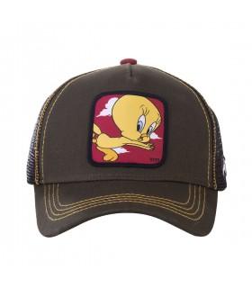 Casquette Capslab Trucker Looney Tunes Titi Gris