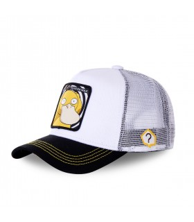 Men's Capslab Pokemon Psyduck White Cap