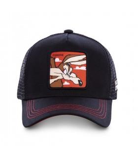 Men's Capslab Looney Tunes Coyote Black Cap