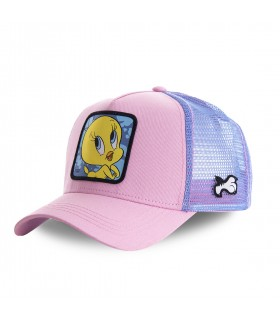 Casquette Capslab trucker Looney Tunes Tweety rose
