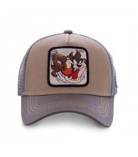 Casquette Capslab Trucker Looney Tunes Taz Marron