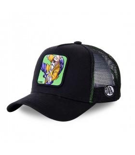 Men's Capslab Dragon Ball Z Black and Green Trucker Cap