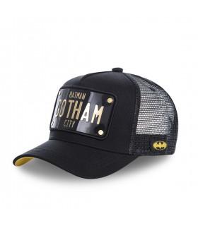 Men's Capslab DC Comics Batman Black Cap