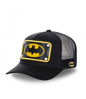 Casquette Capslab trucker DC Comics Batman Noir