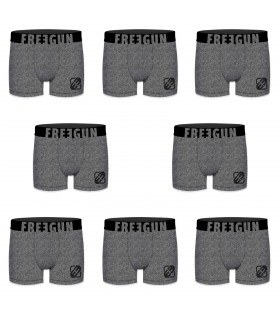 Boxers homme microfibre Packx8 Freegun E2
