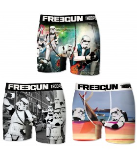 Pack of 3 men's Stormtrooper Boxers E2