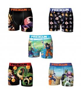 Boxers homme microfibre Packx5 Freegun Dragon Ball Z E1