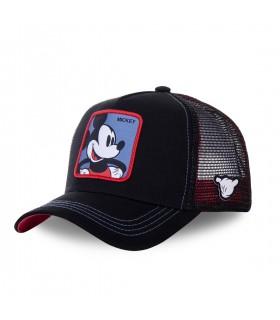 Casquette Capslab trucker Disney Mickey Noir