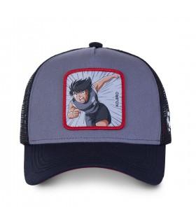 Men's Capslab Captain Tsubasa Kojro Grey Trucker Cap