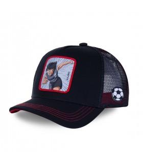 Captain Tsubasa Kojiro Black Cap with mesh