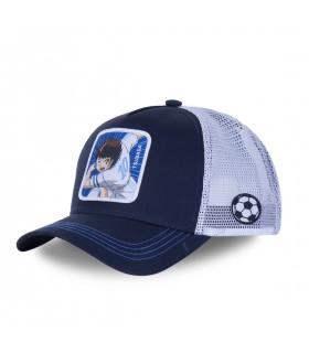 Men's Capslab Captain Tsubasa Blue Trucker Cap