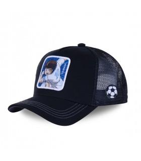 Men's Capslab Captain Tsubasa Black Cap