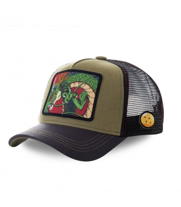 Dragon Ball Z Shenron Kakhi Cap with mesh