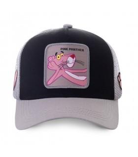 Casquette trucker Capslab Pink Panther Noir et Gris