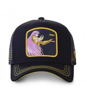 Saint Seiya Aries Black Cap with mesh