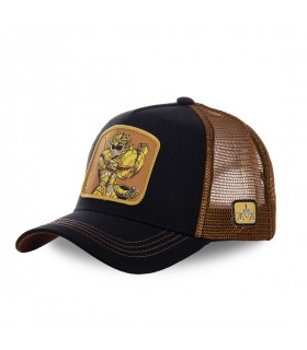 Saint Seiya Libra Black Cap with mesh