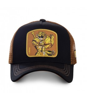 Saint Seiya Libra Black Cap with mesh