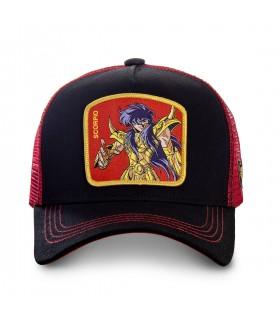 Saint Seiya Scorpio Black Cap with mesh