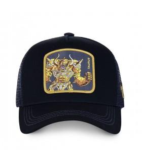 Saint Seiya Taurus Black Cap with mesh