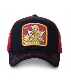 Saint Seiya Virgo Black Cap with mesh