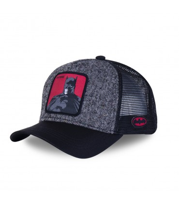 Men's Capslab DC Comics Batman Grey Trucker Cap