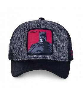 Men's Capslab DC Comics Batman Grey Trucker Cap