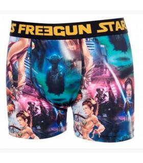 Lot De 4 Boxers Homme Freegun Star Wars Star Wars