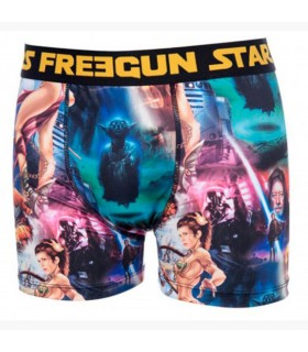 Lot De 4 Boxers Homme Freegun Star Wars