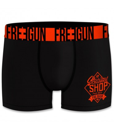 Lot de 4 boxers Homme Freegun Shop Noir