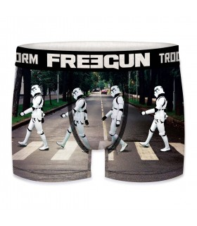 Boxer Homme Freegun Storm Trooper Street Noir