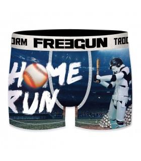 Boxer Homme Freegun Stormtrooper Baseball Bleu