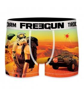 Boxer Homme Freegun Stormtrooper Desert Orange