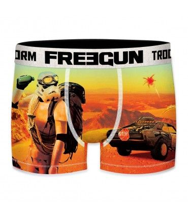 Boxer Homme Freegun Stormtrooper Desert Orange